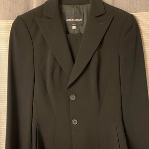 Jackets & Blazers - Women's Giorgio Armani suit jacket in black
